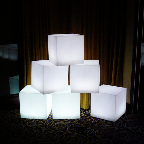 Led Cube/led Bar Chair/led Moder Cube