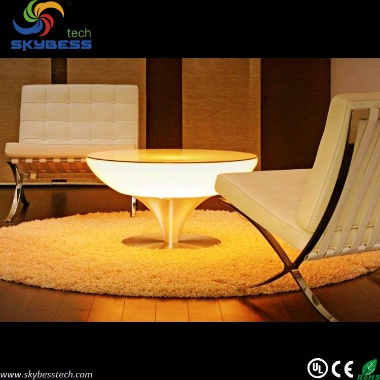 66*66*56CM LED Wine Table/color Changing Cocktail Table Wedding Party  Furniture ?